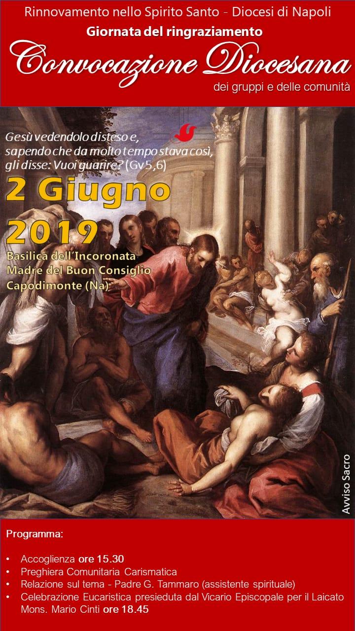 2 Giugno 2019 – Convocazione Diocesana RnS Napoli