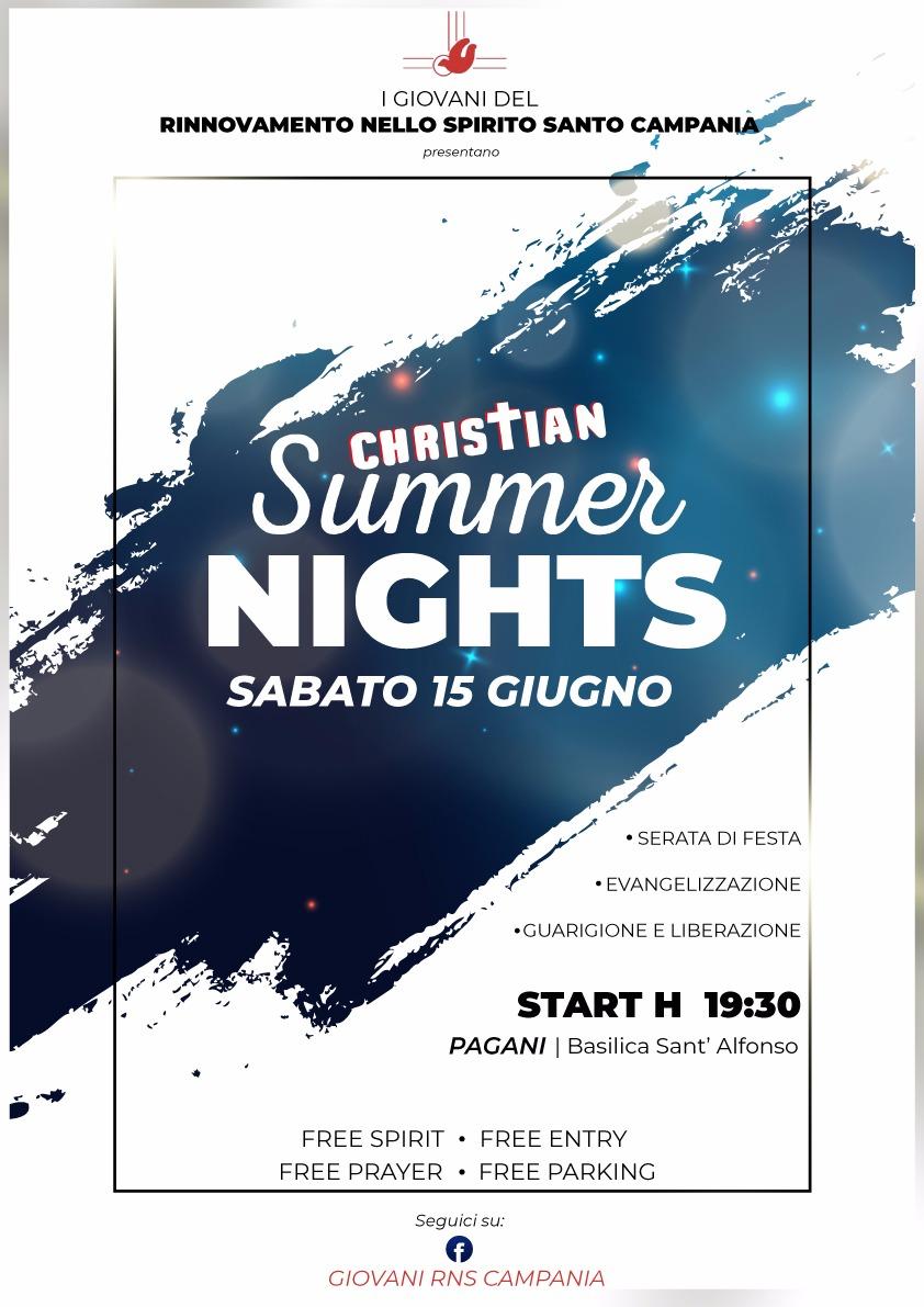 15 Giugno 2019 – Christian Summer Nights