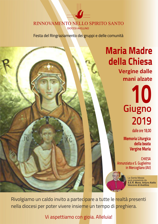 10 Giugno Convocazione Diocesana RnS Avellino